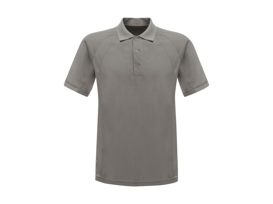 Regatta Coolweave Wicking Polo, Silver Grey, L bedrucken, Art.-Nr. 005177145