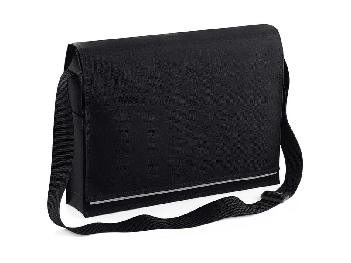 Bag Base Conference Messenger, Black, One Size bedrucken, Art.-Nr. 005291010