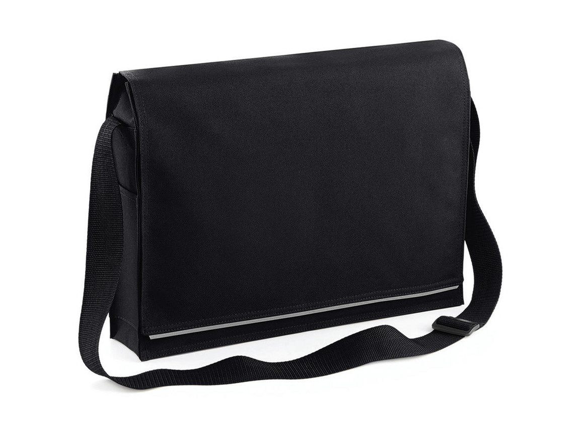 Bag Base Conference Messenger, Black, One Size bedrucken, Art.-Nr. 005291010