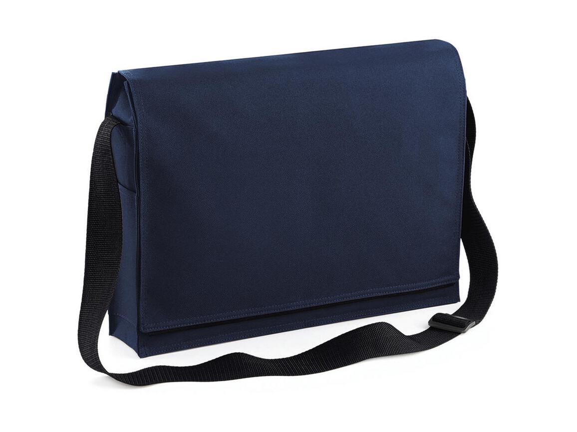 Bag Base Conference Messenger, French Navy, One Size bedrucken, Art.-Nr. 005292010