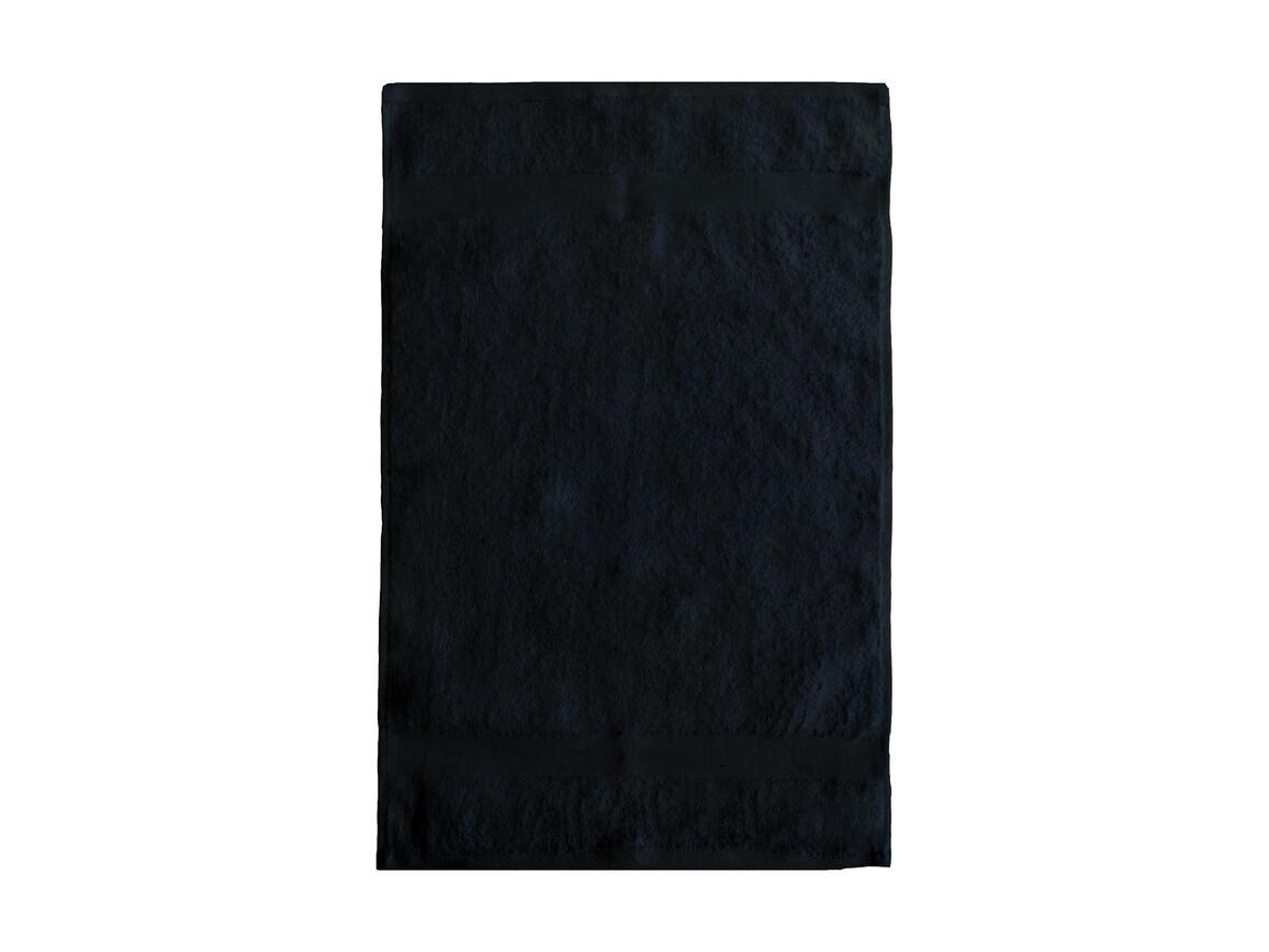 Jassz Towels Seine Guest Towel 40x60 cm, Black, One Size bedrucken, Art.-Nr. 005641010