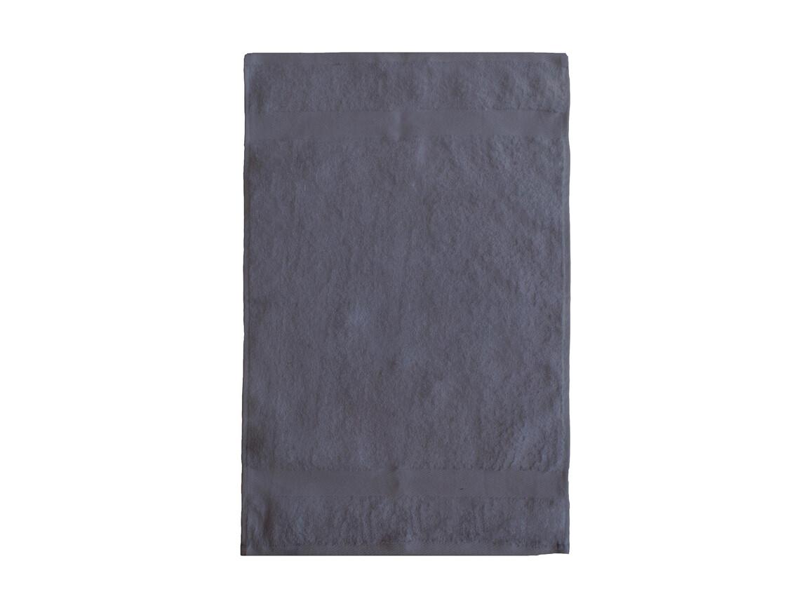 Jassz Towels Seine Guest Towel 40x60 cm, Grey, One Size bedrucken, Art.-Nr. 005641210