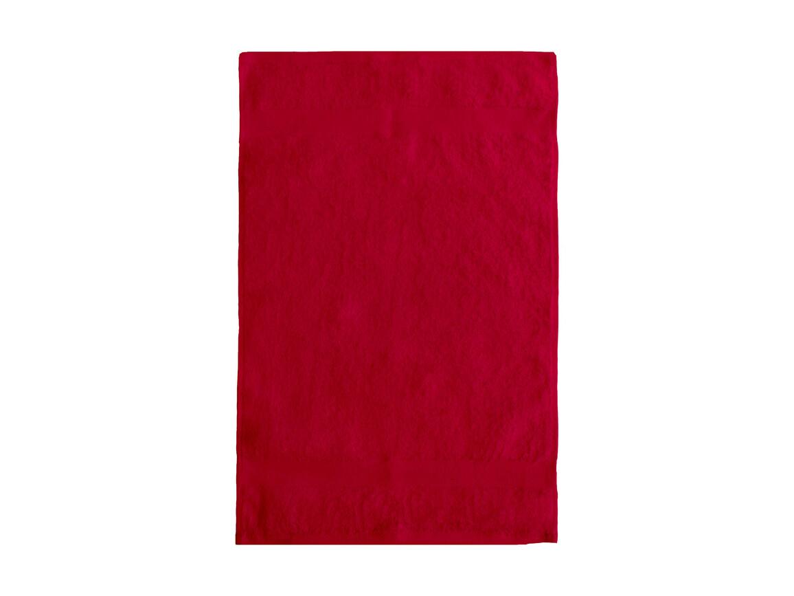 Jassz Towels Seine Guest Towel 40x60 cm, Red, One Size bedrucken, Art.-Nr. 005644000