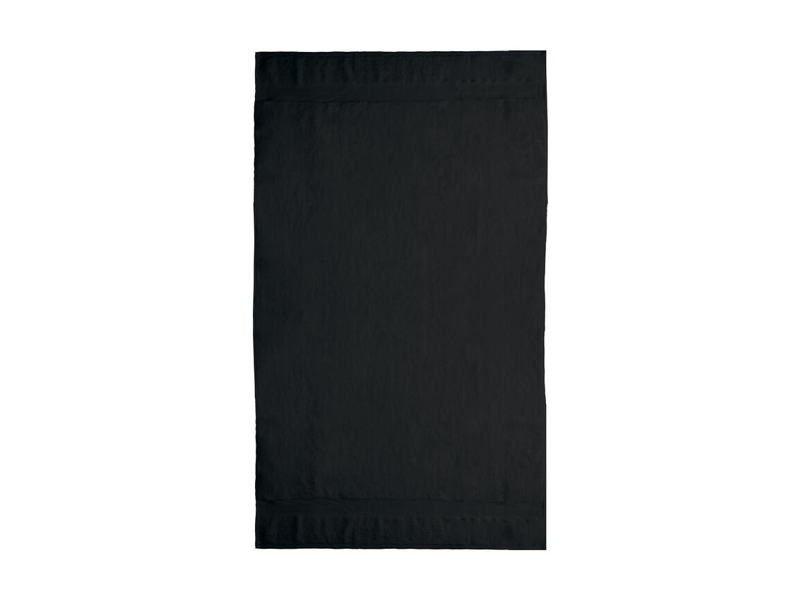 Jassz Towels Seine Beach Towel 100x180 cm, Black, One Size bedrucken, Art.-Nr. 006641010