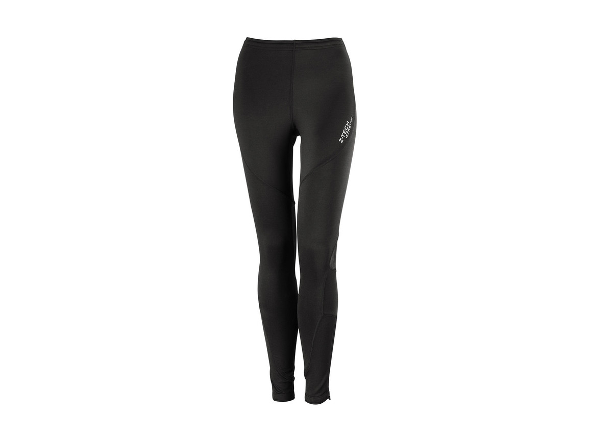 Result Women`s Sprint Pant, Black, L bedrucken, Art.-Nr. 007331015