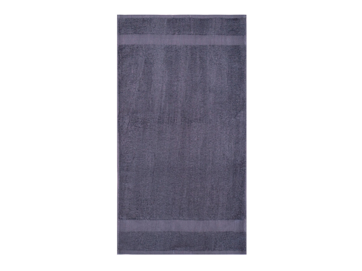 Jassz Towels Tiber Hand Towel 50x100 cm, Steel Grey, One Size bedrucken, Art.-Nr. 007641110