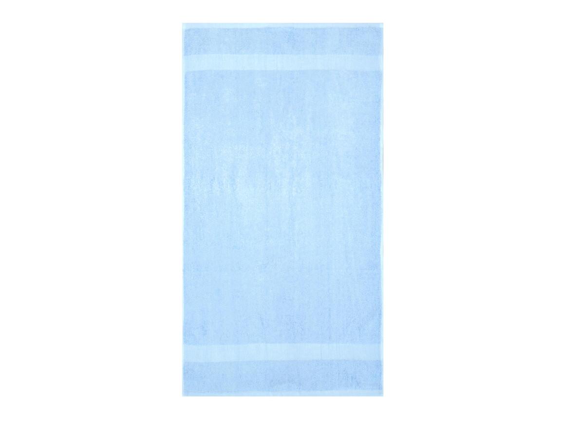 Jassz Towels Tiber Hand Towel 50x100 cm, Placid Blue, One Size bedrucken, Art.-Nr. 007643010