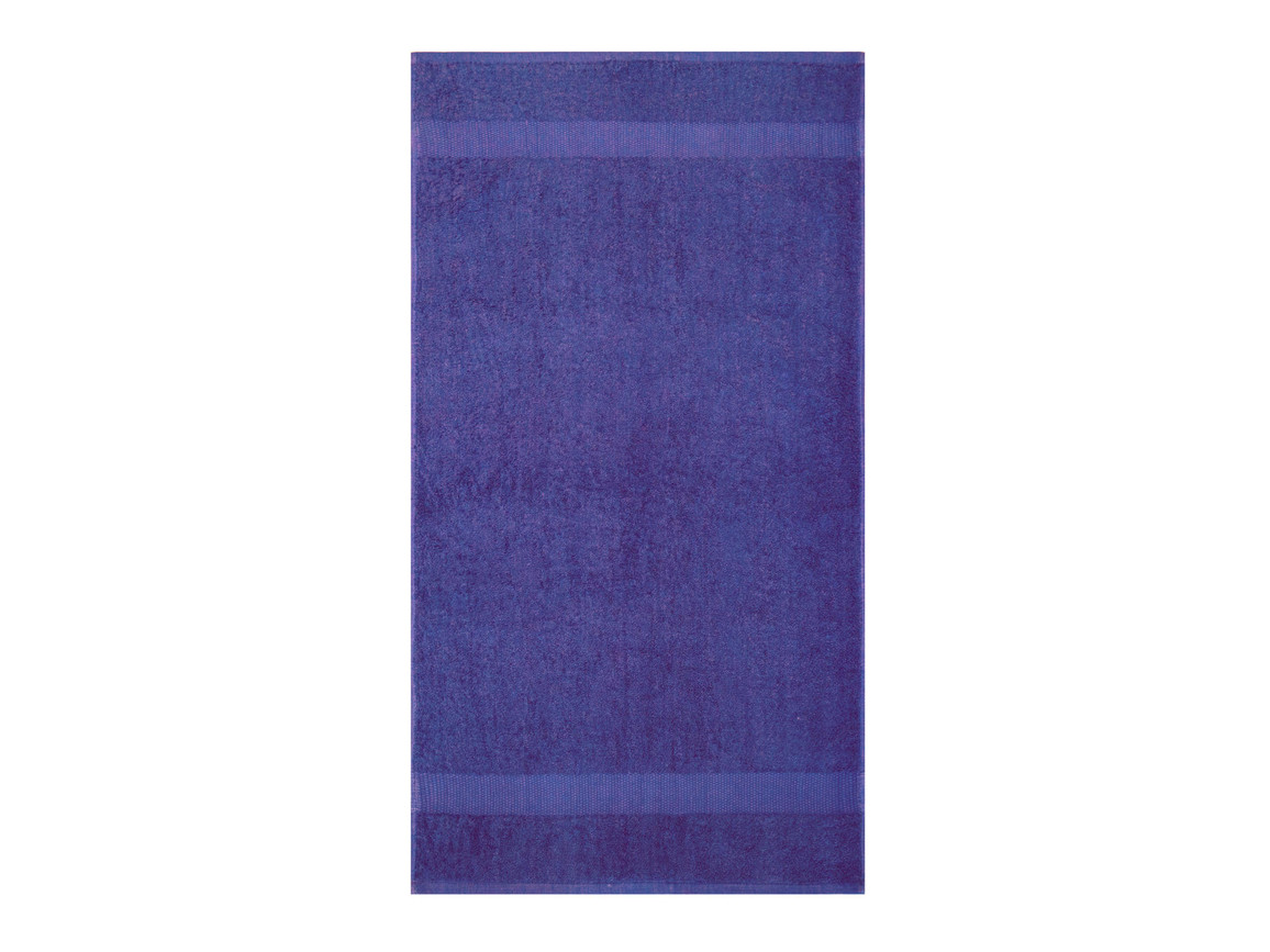 Jassz Towels Tiber Hand Towel 50x100 cm, Monaco Blue, One Size bedrucken, Art.-Nr. 007643050