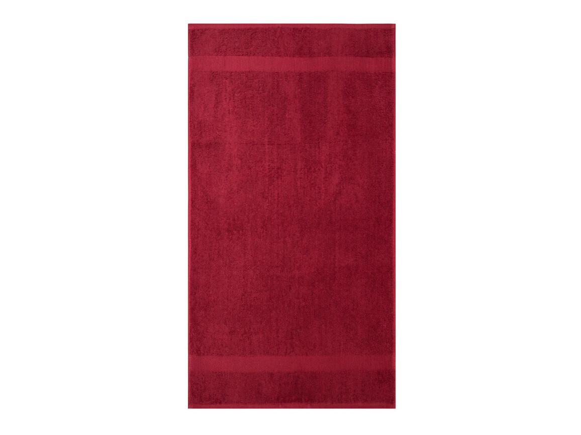 Jassz Towels Tiber Hand Towel 50x100 cm, Rich Red, One Size bedrucken, Art.-Nr. 007644020