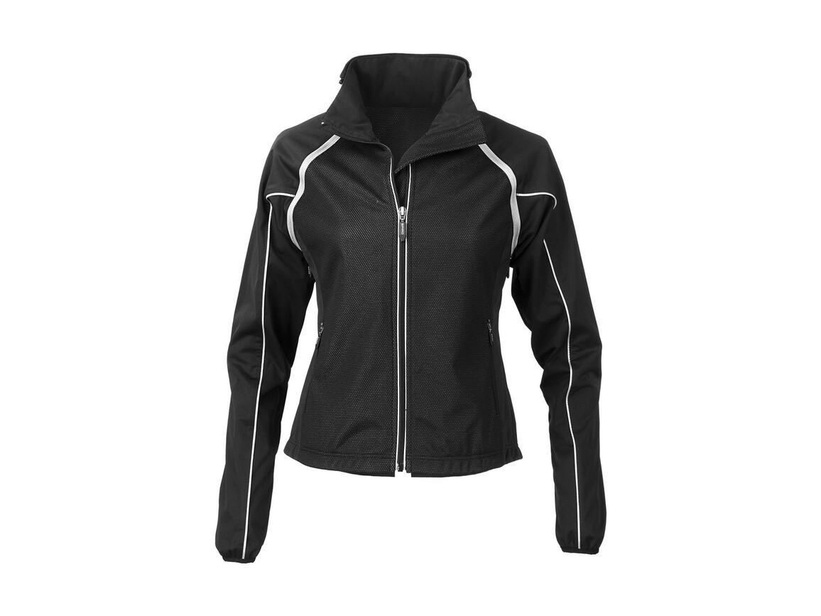 Result Women`s Race System Jacket, Black, M bedrucken, Art.-Nr. 009331014