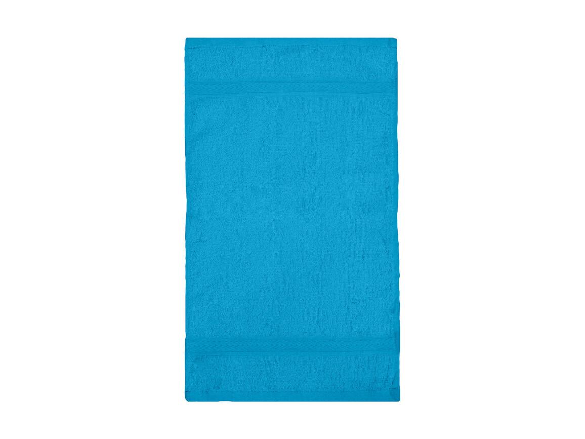 Jassz Towels Rhine Guest Towel 30x50 cm, Aqua, One Size bedrucken, Art.-Nr. 009643280