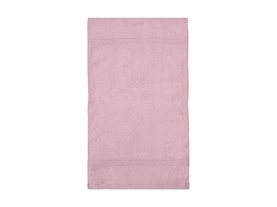 Jassz Towels Rhine Guest Towel 30x50 cm, Pink, One Size bedrucken, Art.-Nr. 009644190