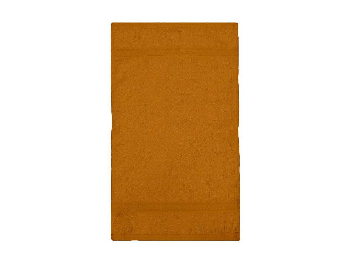 Jassz Towels Rhine Guest Towel 30x50 cm, Terra, One Size bedrucken, Art.-Nr. 009644360