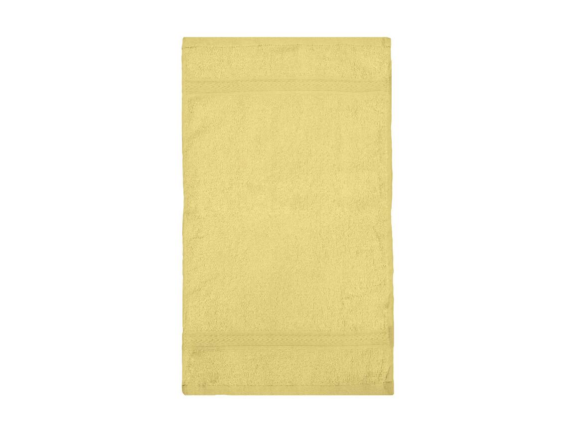 Jassz Towels Rhine Guest Towel 30x50 cm, Yellow, One Size bedrucken, Art.-Nr. 009646000