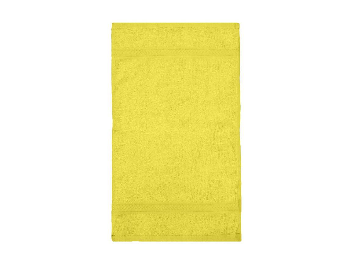 Jassz Towels Rhine Guest Towel 30x50 cm, Bright Yellow, One Size bedrucken, Art.-Nr. 009646030