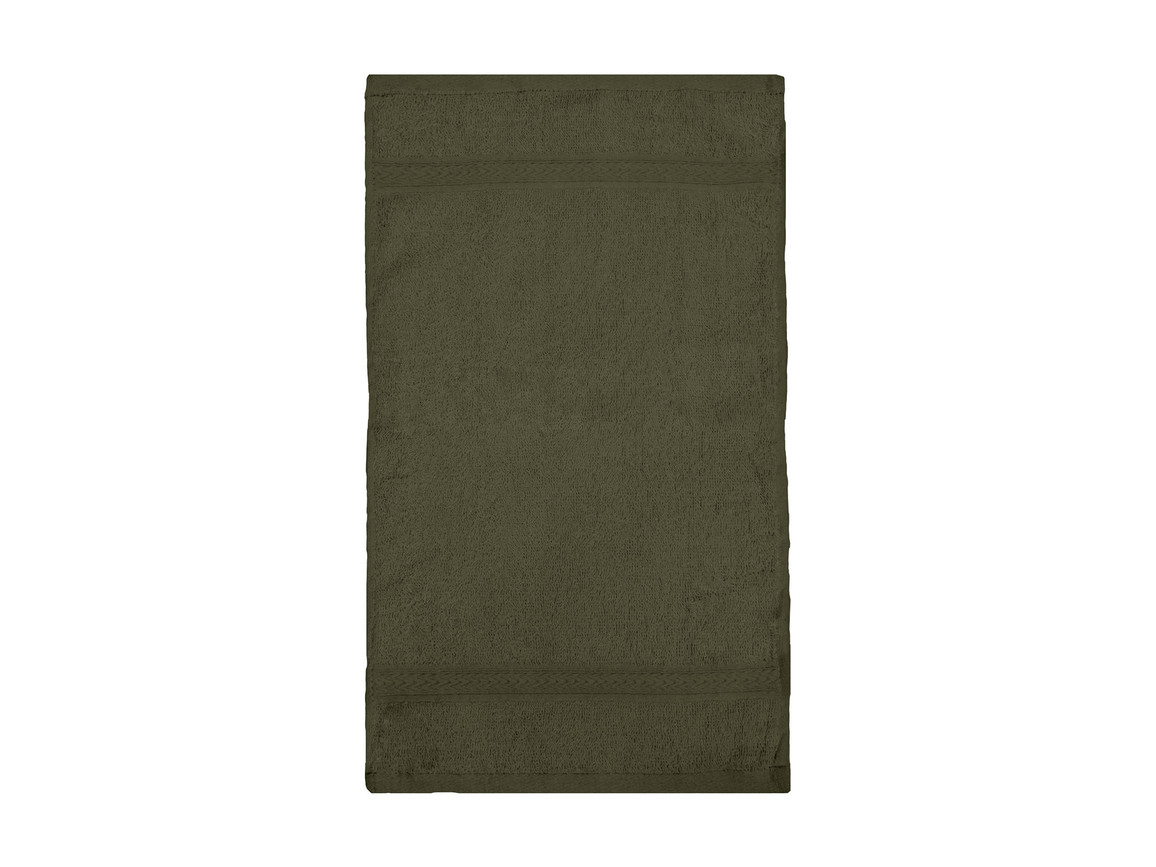 Jassz Towels Rhine Guest Towel 30x50 cm, Chocolate, One Size bedrucken, Art.-Nr. 009647020