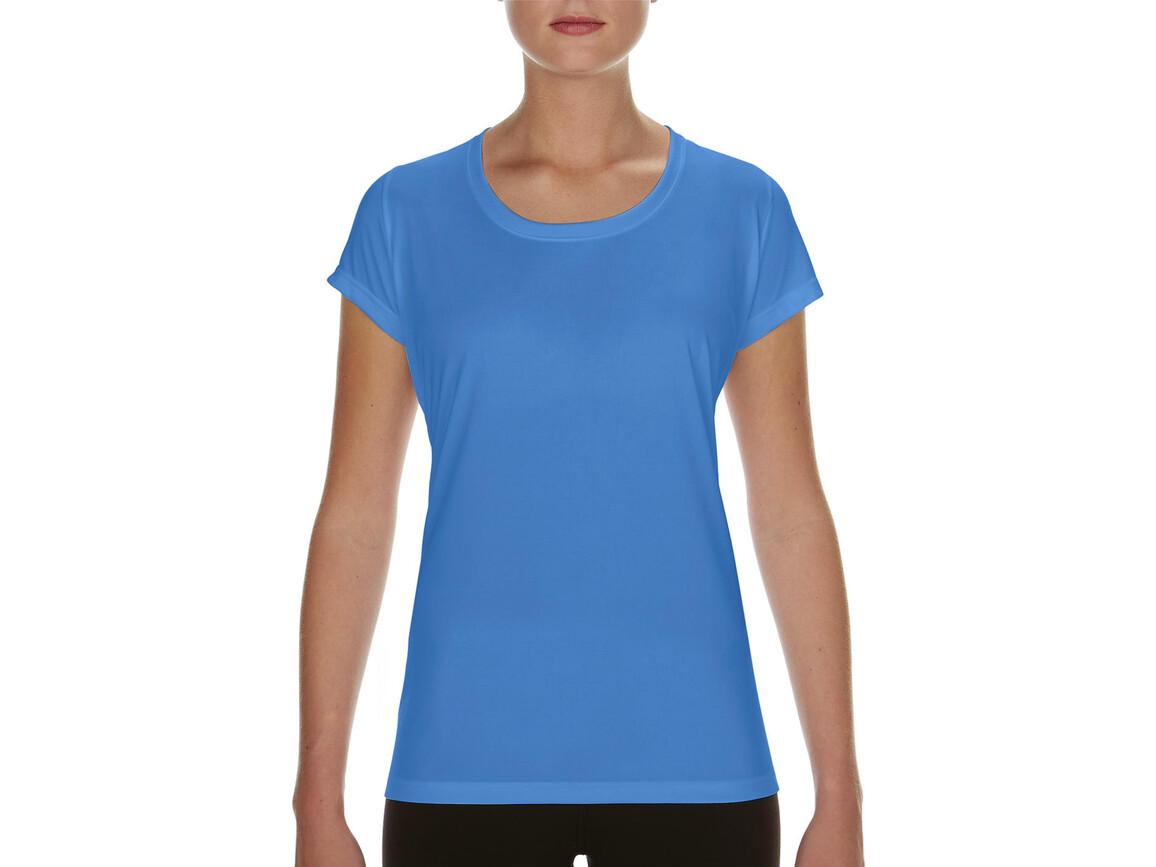 Gildan Performance Ladies` Core T-Shirt, Sport Light Blue, 2XL bedrucken, Art.-Nr. 010093117