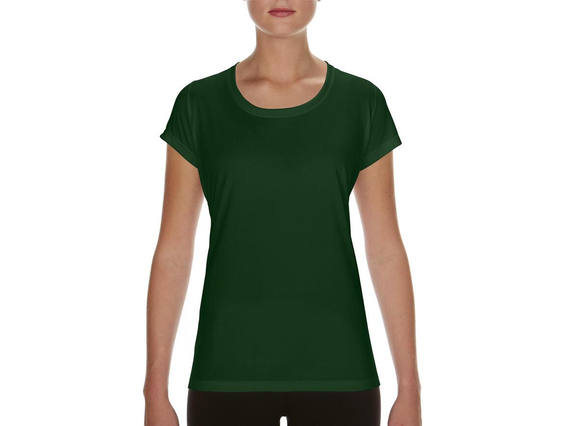 Gildan Performance Ladies` Core T-Shirt, Sport Dark Green, M bedrucken, Art.-Nr. 010095084