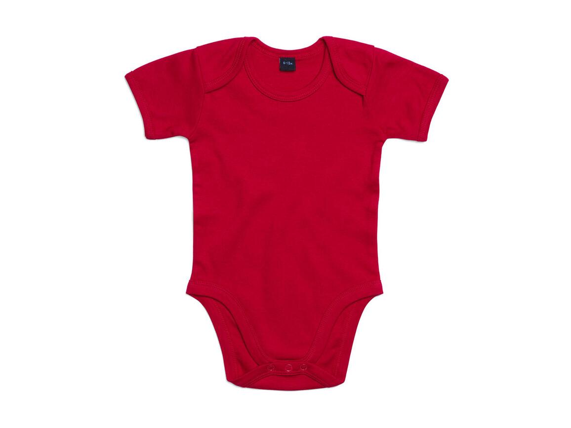BabyBugz Baby Bodysuit, Red, 6-12 bedrucken, Art.-Nr. 010474003