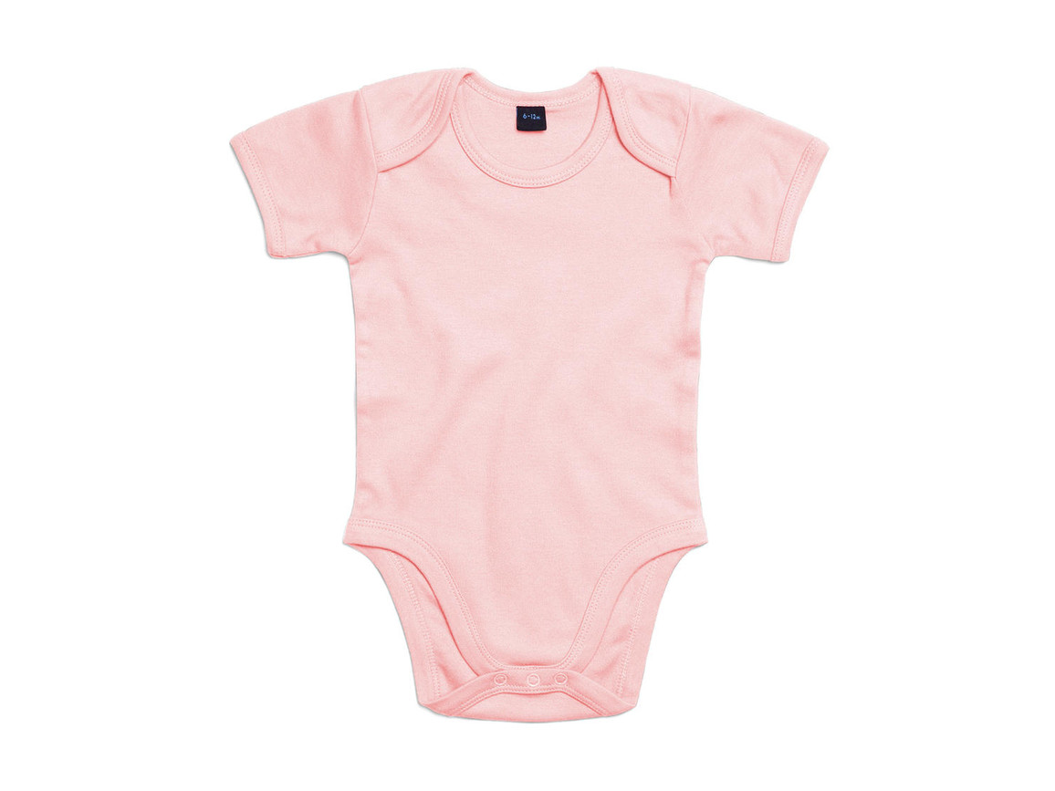 BabyBugz Baby Bodysuit, Powder Pink, 3-6 bedrucken, Art.-Nr. 010474172