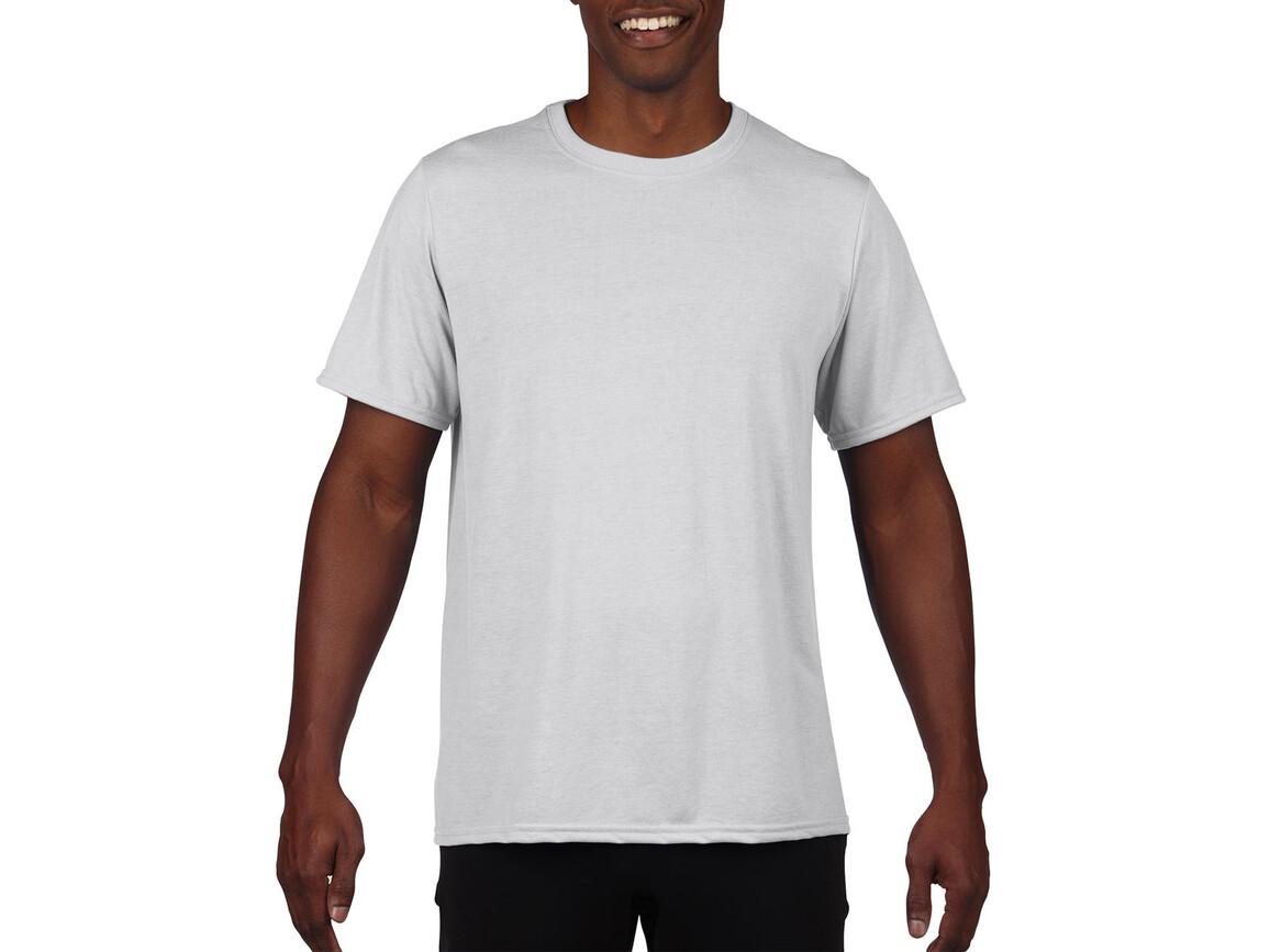 Gildan Performance Adult Core T-Shirt, White, 2XL bedrucken, Art.-Nr. 011090007