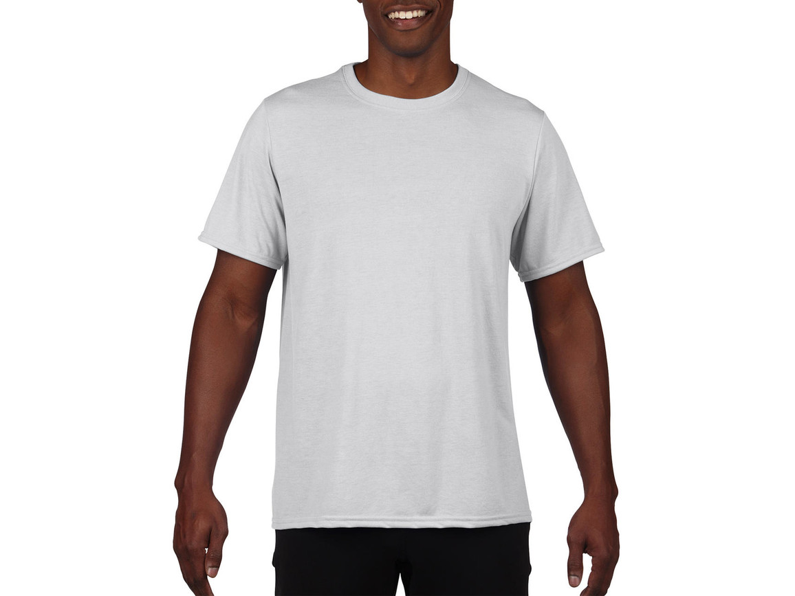 Gildan Performance Adult Core T-Shirt, White, XL bedrucken, Art.-Nr. 011090006
