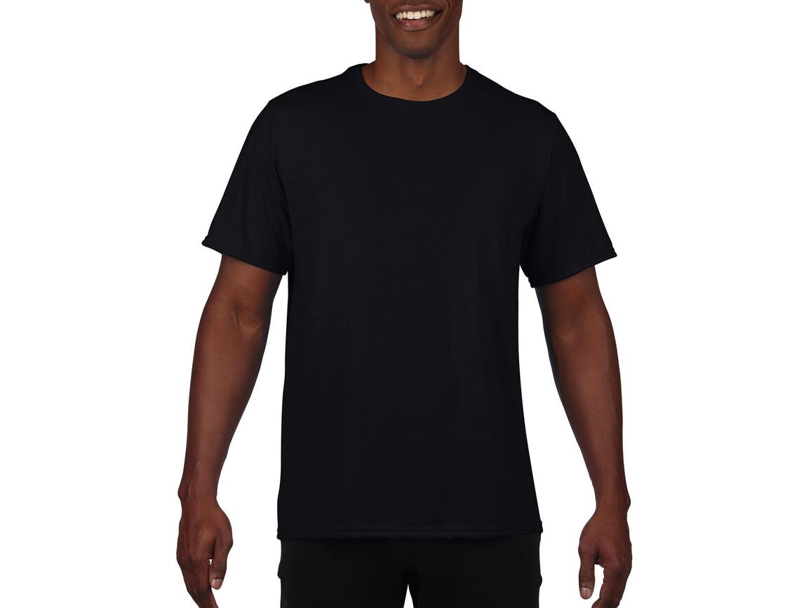 Gildan Performance Adult Core T-Shirt, Black, M bedrucken, Art.-Nr. 011091014