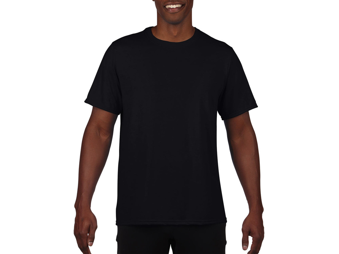 Gildan Performance Adult Core T-Shirt, Black, S bedrucken, Art.-Nr. 011091013