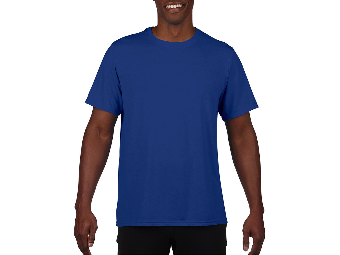 Gildan Performance Adult Core T-Shirt, Sport Royal, XL bedrucken, Art.-Nr. 011093026