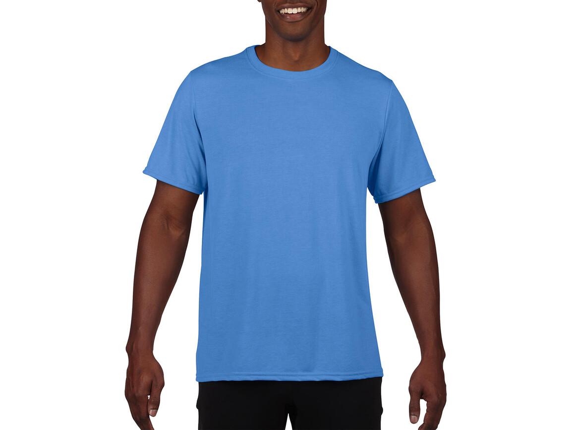 Gildan Performance Adult Core T-Shirt, Sport Light Blue, S bedrucken, Art.-Nr. 011093113