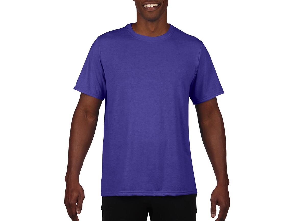 Gildan Performance Adult Core T-Shirt, Sport Purple, XL bedrucken, Art.-Nr. 011093146