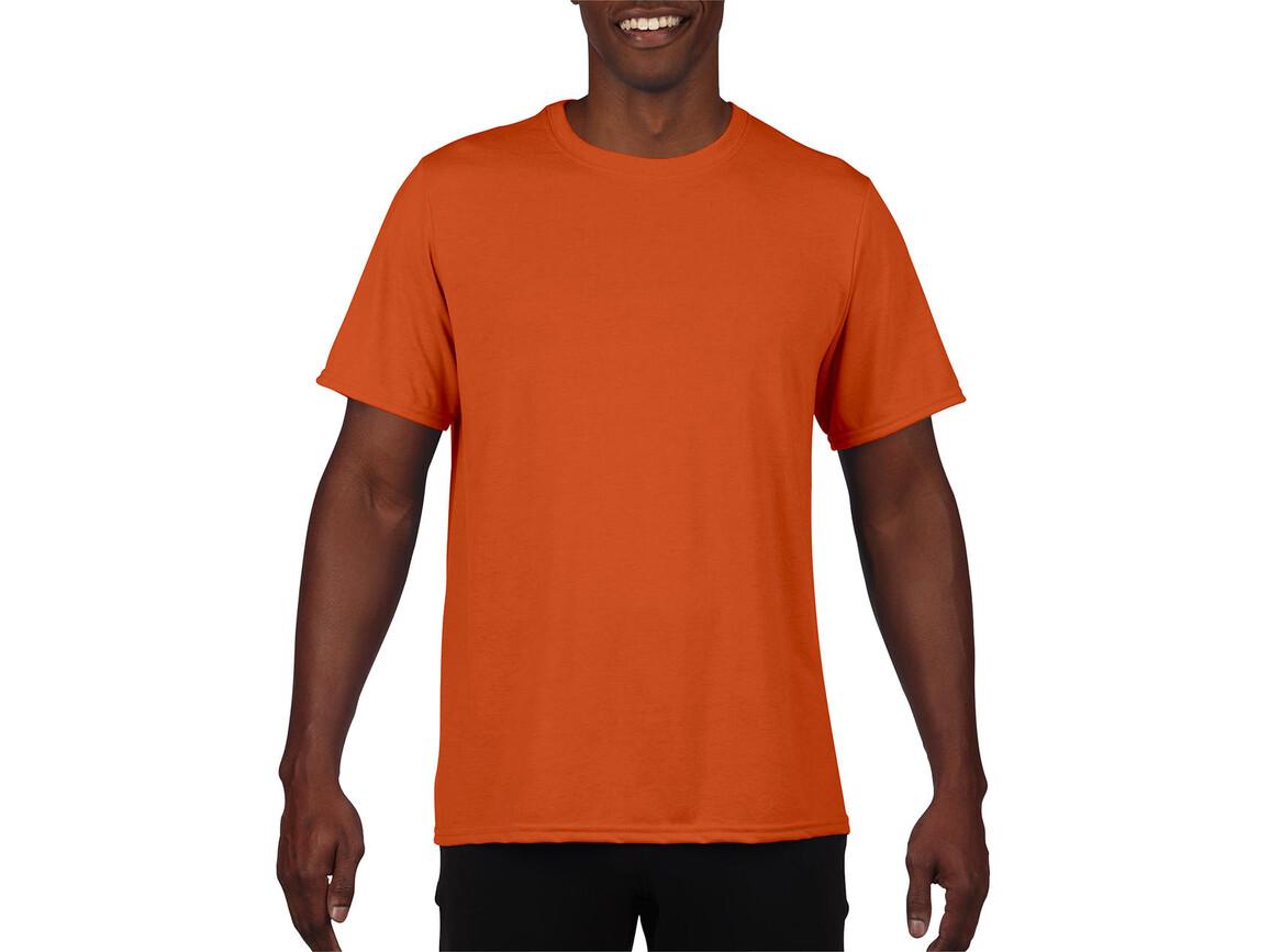 Gildan Performance Adult Core T-Shirt, Sport Orange, XL bedrucken, Art.-Nr. 011094166