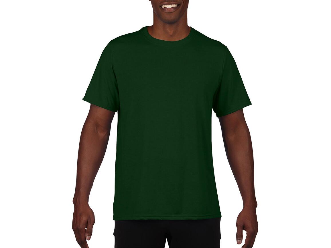 Gildan Performance Adult Core T-Shirt, Sport Dark Green, M bedrucken, Art.-Nr. 011095084