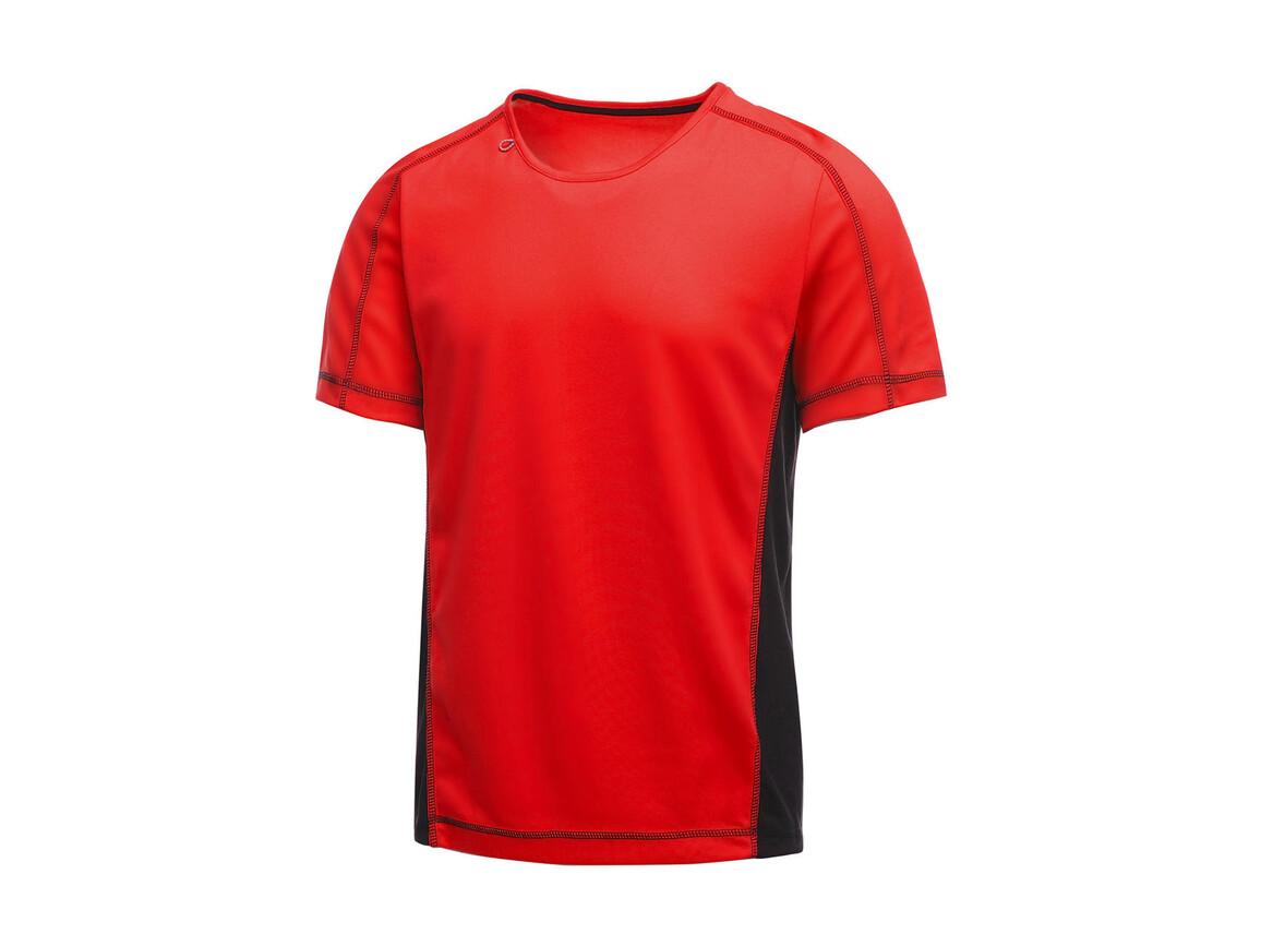 Regatta Beijing T-Shirt, Classic Red/Black, L bedrucken, Art.-Nr. 020174515