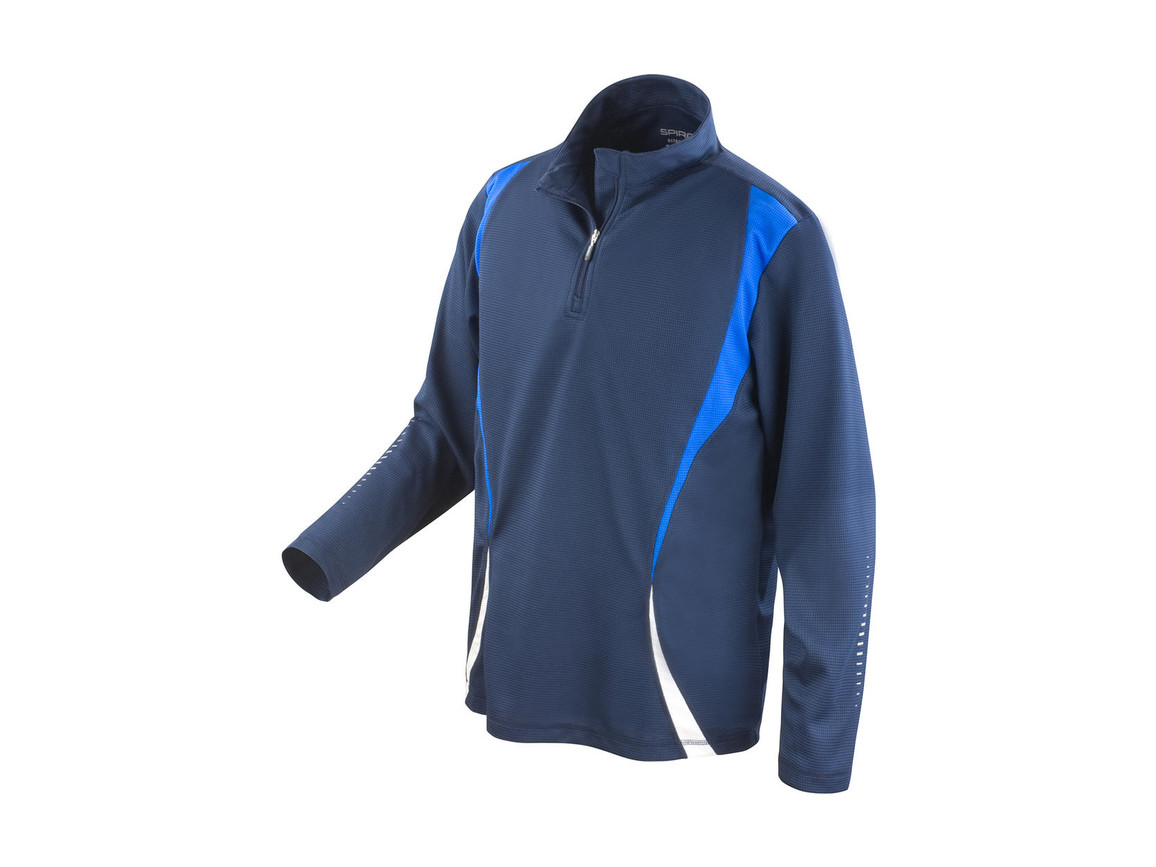 Result Spiro Trial Training Top, Navy/Royal/White, XL bedrucken, Art.-Nr. 020332906