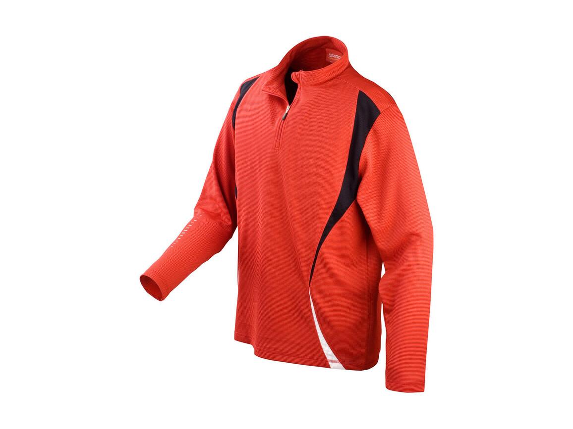 Result Spiro Trial Training Top, Red/Black/White, XL bedrucken, Art.-Nr. 020334906