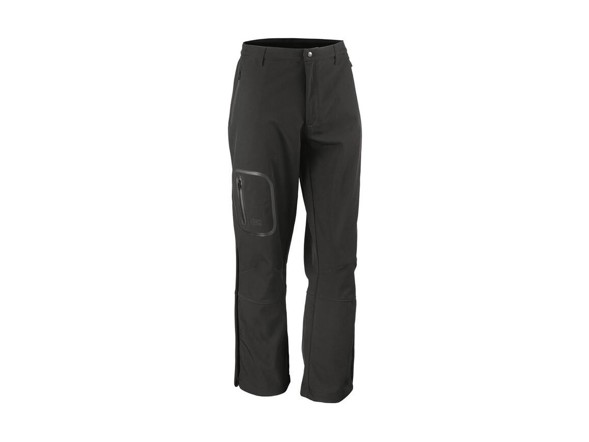 Result Performance Softshell Trousers, Black, L bedrucken, Art.-Nr. 032331015