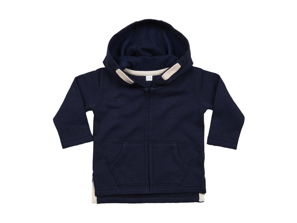 BabyBugz Baby Hoodie, Nautical Navy, 6-12 bedrucken, Art.-Nr. 032472013