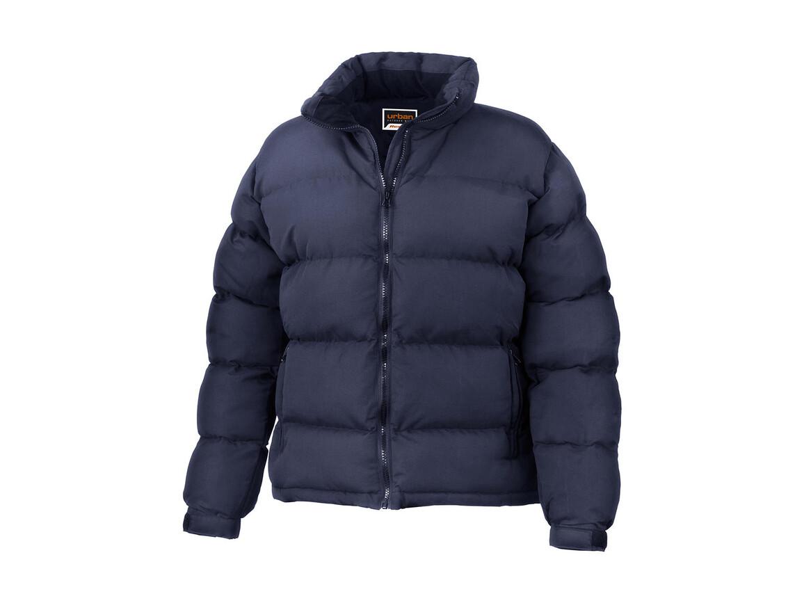 Result Ladies` Holkam Down Feel Jacket, Navy, XS bedrucken, Art.-Nr. 041332002