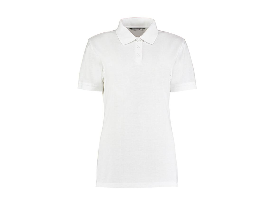 Kustom Kit Ladies` Classic Fit Polo Superwash® 60º, White, L bedrucken, Art.-Nr. 042110005
