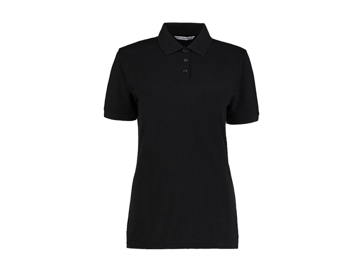 Kustom Kit Ladies` Classic Fit Polo Superwash® 60º, Black, 2XS bedrucken, Art.-Nr. 042111011