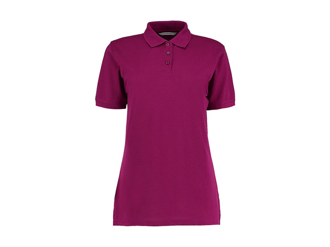 Kustom Kit Ladies` Classic Fit Polo Superwash® 60º, Magenta, M bedrucken, Art.-Nr. 042114444