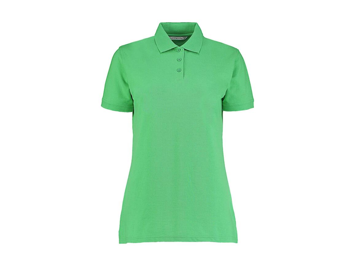 Kustom Kit Ladies` Classic Fit Polo Superwash® 60º, Apple Green, 4XL bedrucken, Art.-Nr. 042115019