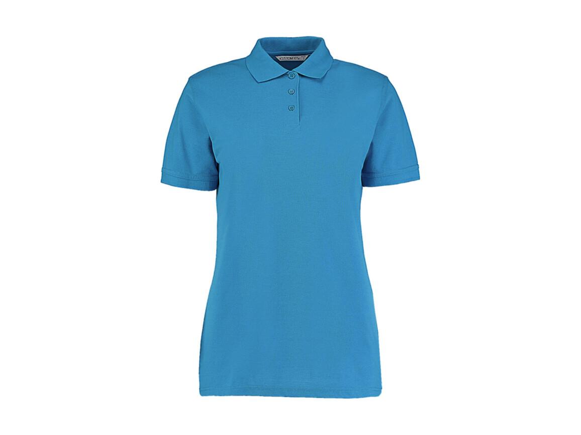 Kustom Kit Ladies` Classic Fit Polo Superwash® 60º, Turquoise, L bedrucken, Art.-Nr. 042115365