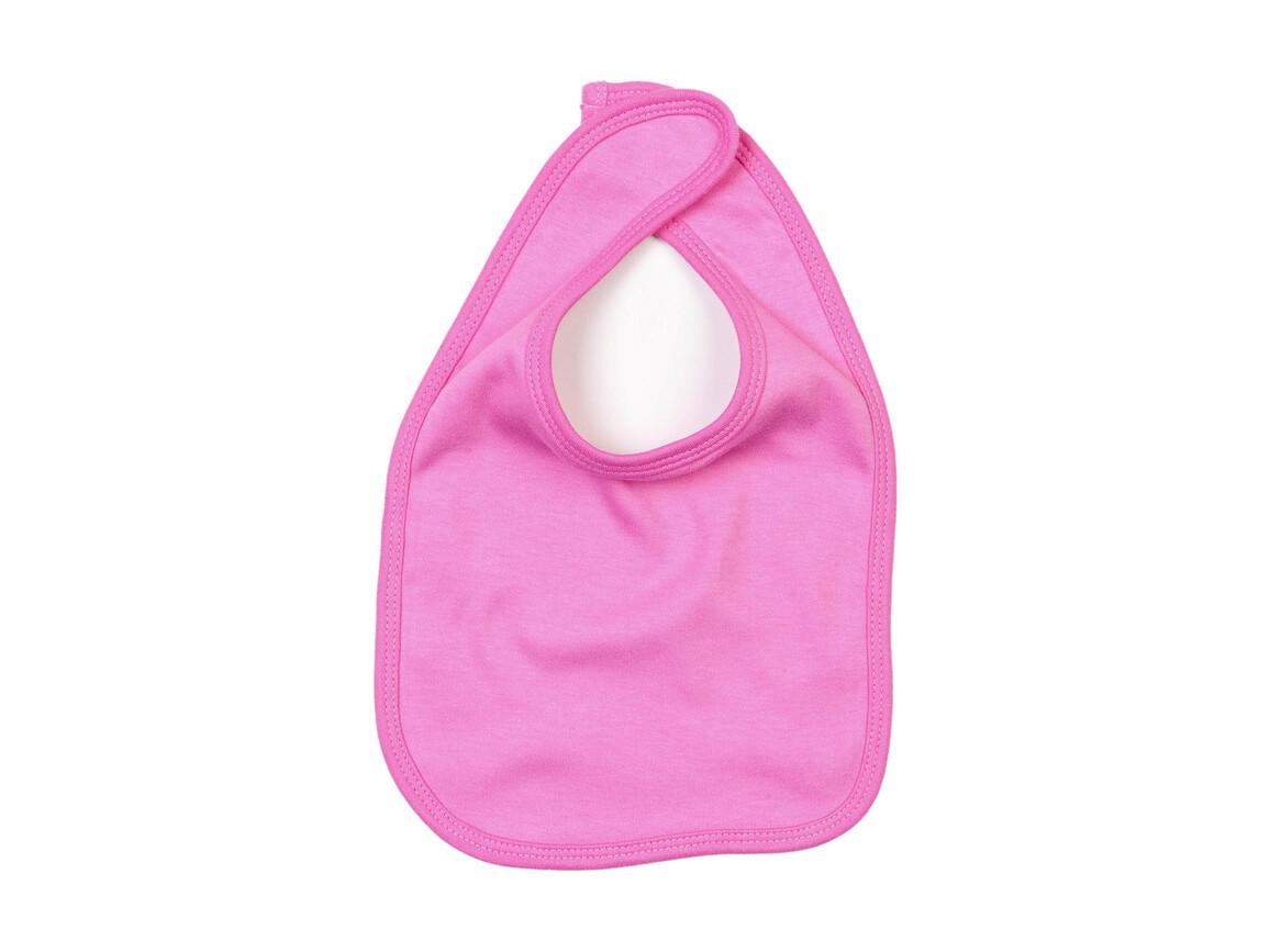 BabyBugz Baby Bib, Bubble Gum Pink, One Size bedrucken, Art.-Nr. 042474220