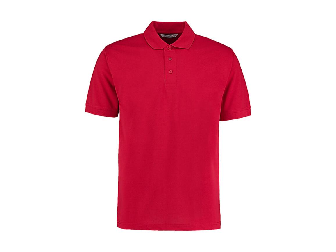 Kustom Kit Men`s Classic Fit Polo Superwash® 60º, Red, 5XL bedrucken, Art.-Nr. 043114000