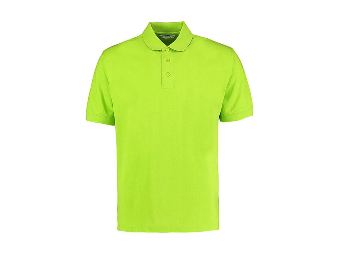 Kustom Kit Men`s Classic Fit Polo Superwash® 60º, Lime, XL bedrucken, Art.-Nr. 043115216