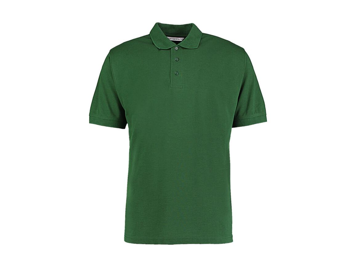 Kustom Kit Men`s Classic Fit Polo Superwash® 60º, Bottle Green, S bedrucken, Art.-Nr. 043115403