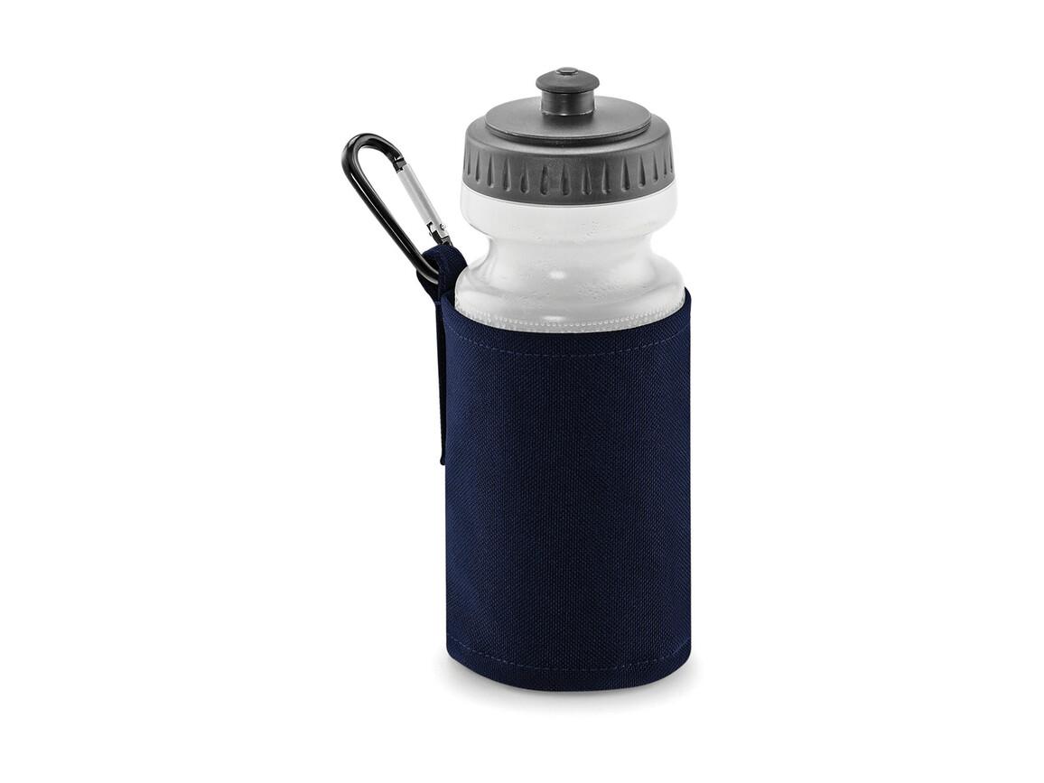 Quadra Water Bottle And Holder, French Navy, One Size bedrucken, Art.-Nr. 046302010
