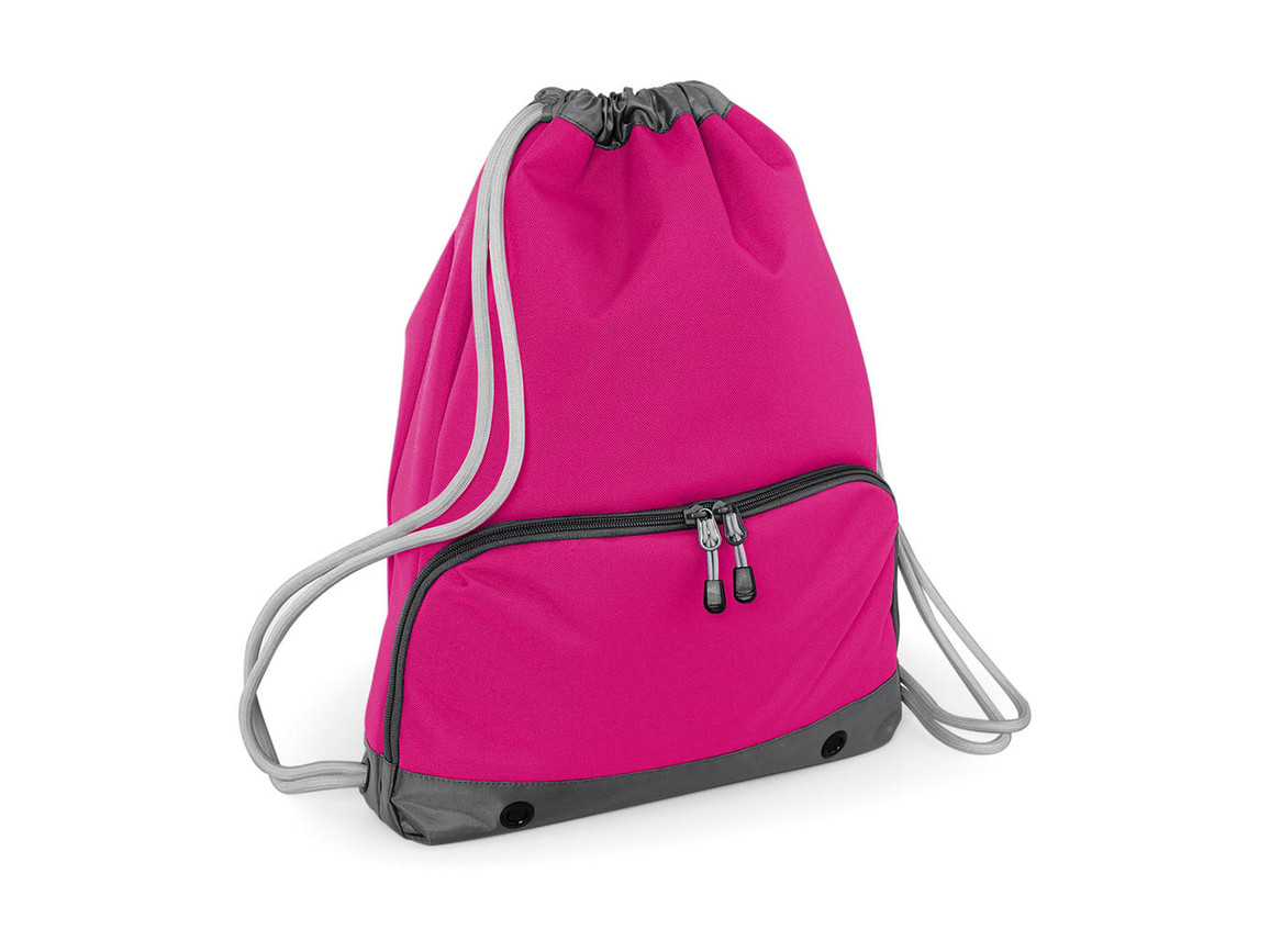 Bag Base Athleisure Gymsac, Fuchsia, One Size bedrucken, Art.-Nr. 047294390